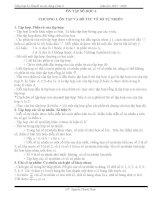 Tổng hợp lý thuyết và các dạng toán 6