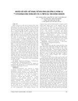 NGHIÊN cứu điều CHẾ KHÁNG THỂ đơn DÒNG gắn ĐỒNG vị PHÓNG xạ i RTUXMAB DÙNG TRONG điều TRỊ u LYMPHO ác TÍNH KHÔNG HODGKIN