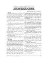 SƠ bộ ĐÁNH GIÁ HIỆU QUẢ điều TRỊ của OLANZAPINE với BỆNH NHÂN tâm THẦN PHÂN LIỆT THỂ PARANOID KHÁNG các THUỐC HALOPERIDOL và CHLORPROMAZINE