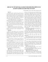 ĐÁNH GIÁ THAY đổi ENZYM GAN, BILIRUBIN ở BỆNH NHÂN ĐỒNG NHIỄM HIV HCV SAU điều TRỊ BẰNG d4t  3TC  NVP HOẶC d4t 3TC èv