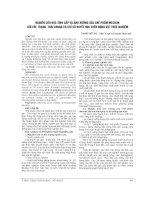 NGHIÊN cứu độc TÍNH cấp và ẢNH HƯỞNG của CHẾ PHẨM MECOOK đối với TRẠNG THÁI CHUNG và CHỈ số HUYẾT học TRÊN ĐỘNG vật THỰC NGHIỆM