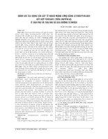 ĐÁNH GIÁ tác DỤNG của gây tê NGOÀI MÀNG CỨNG BẰNG LEVOBUPIVACAIN kết hợp FENTANYL TRÊN CHUYỂN dạ ở sản PHỤ và THAI NHI đẻ QUA ĐƯỜNG tự NHIÊN