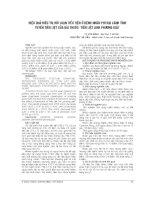 HIỆU QUẢ điều TRỊ rối LOẠN TIỂU TIỆN ở BỆNH NHÂN PHÌ đại LÀNH TÍNH TUYẾN TIỀN LIỆT của bài THUỐC  TIỀN LIỆT LINH PHƯƠNG GIẢI