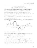 Ứng dụng phương pháp hàm số trong giải toán