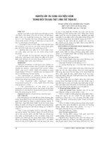 NGHIÊN cứu tác DỤNG của điện CHÂM TRONG điều TRỊ ĐAU THẮT LƯNG THẾ THẬN hư