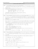 TUYỂN tập các bài TOÁN HÌNH học PHẲNG OXY (GIẢI CHI TIẾT)