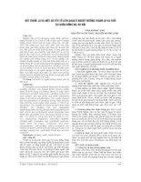 HÚT THUỐC lá và một số yếu tố LIÊN QUAN ở NGƯỜI TRƯỞNG THÀNH 25   64 TUỔI tại QUẬN ĐỐNG đa
