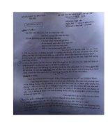 Tuyển tập đề thi vào lớp 10 môn văn (có lời giải) (14)