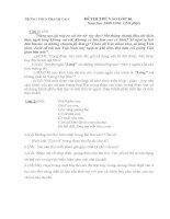 Tuyển tập đề thi vào lớp 10 môn văn (có lời giải) (8)