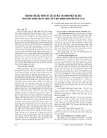 NGHIÊN cứu đặc điểm kết cấu sọ mặt và KHUÔN mặt hài hòa TRÊN ẢNH CHUẨN hóa kỹ THUẬT số ở một NHÓM SINH VIÊN TUỔI 18 25