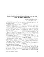 ĐÁNH GIÁ HIỆU QUẢ của bổ SUNG kẽm và đa VI CHẤT lên sự PHỤC hồi DINH DƯỠNG ở TRẺ SUY DINH DƯỠNG có NHIỄM ROTAVIUS