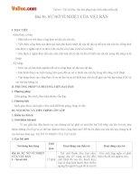 Giáo án vật lý 10 bài 36 sự nở vì nhiệt của vật rắn