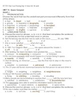 Bài tập tiếng anh của mai lan hương unit 15