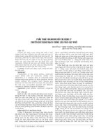 PHẪU THUẬT NIKAIDOH điều TRỊ BỆNH lý CHUYỂN gốc ĐỘNG MẠCH THÔNG LIÊN THẤT hẹp PHỔI