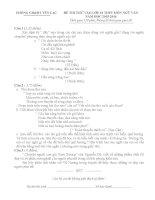 Tuyển tập đề thi vào lớp 10 môn văn (có lời giải) (15)