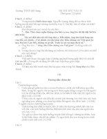 Tuyển tập đề thi vào lớp 10 môn văn (có lời giải) (17)