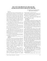 MỘT số yếu tố ẢNH HƯỞNG đến CHẤT LƯỢNG CUỘC SỐNG của BỆNH NHI HEN PHẾ QUẢN tại BỆNH VIỆN NHI TRUNG ƯƠNG