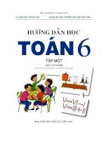 Sách giáo khoa môn lớp 6 theo chương trình vnen   tập 1