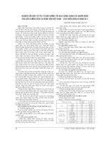NGHIÊN cứu một số yếu tố ẢNH HƯỞNG tới HOẠT ĐỘNG CHĂM sóc NGƯỜI BỆNH của điều DƯỠNG VIÊN tại BỆNH VIỆN VIỆT NAM – THỤY điển UÔNG bí năm 2011