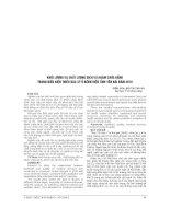 KHỐI LƯỢNG và CHẤT LƯỢNG DỊCH vụ KHÁM CHỮA BỆNH TRONG điều KIỆN THIẾU bác sỹ ở BỆNH VIỆN TỈNH yên bái năm 2010