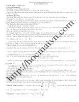 bài tập chuyên đề dao động cơ luyện thi đại học có giải chi tiết