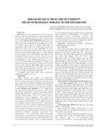 ĐÁNH GIÁ HIỆU QUẢ và TÍNH AN TOÀN của ETANERCEPT PHỐI hợp với METHOTREXAT TRONG điều TRỊ VIÊM KHỚP DẠNG THẤP
