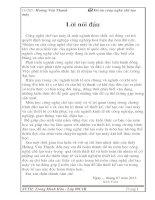 ĐỒ ÁN CÔNG NGHỆ CHẾ TẠO MÁY : QUY TRÌNH CÔNG NGHÊ CHẾ TẠO THÂN DAO