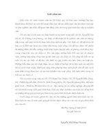NGHIÊN CỨU TÍNH CHẤT CƠ LÝ HÓA VÀ KHẢ NĂNG DIỆT KHUẨN, DIỆT NẤM CỦA MÀNG NANO TiO 2