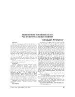 SO SÁNH HAI PHƯƠNG PHÁP CHẨN đoán đặc HIỆU   PHÂN hủy MASTOCYTE và TIÊU BẠCH cầu đặc HIỆU