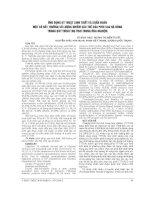 ỨNG DỤNG kỹ THUẬT SINH THIẾT và CHẨN đoán một số bất THƯỜNG số LƯỢNG NHIỄM sắc THỂ của PHÔI SAU rã ĐÔNG TRONG QUY TRÌNH THỤ TINH TRONG ỐNG NGHIỆM