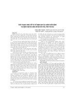 THỰC TRẠNG CUNG cấp và sử DỤNG DỊCH vụ KHÁM CHỮA BỆNH tại BỆNH VIỆN đa KHOA HUYỆN văn yên, TỈNH yên bái