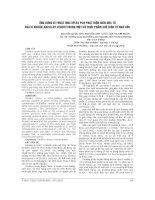 ỨNG DỰNG kĩ THUẬT MULTIPLEX PCR PHÁT HIỆN GIEN độc tố của VI KHUẨN BACILLUS CEREUS TRONG một số THỰC PHẨM CHẾ BIẾN từ NGŨ cốc