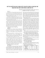 MÔ tả đặc điểm lâm SÀNG và ĐÁNH GIÁ kết QUẢ điều TRỊ VIÊM đa XOANG mạn TÍNH BẰNG PHẪU THUẬT nội SOI CHỨC NĂNG tại BỆNH VIỆN 198