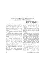 NGHIÊN cứu sự BIẾN đổi các THÔNG số SIÊU âm DOPPLER TIM ở BỆNH NHÂN TĂNG HUYẾT áp NGUYÊN PHÁT