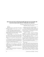 ĐÁNH GIÁ HIỆU QUẢ PHỤC hồi CHỨC NĂNG vận ĐỘNG KHỚP KHUỶU của tập vận ĐỘNG sớm và đặt nẹp kéo dãn có điều CHỈNH ở vết THƯƠNG BỎNG sâu VÙNG KHUỶU