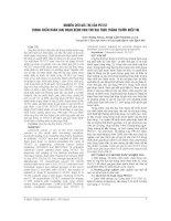 NGHIÊN cứu GIÁ TRỊ của PET CT TRONG CHUẨN đoán GIAI đoạn BỆNH UNG THƯ đại TRỰC TRANG TRƯỚC điều TRỊ