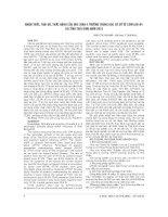 NHẬN THỨC, THÁI độ, THỰC HÀNH của học SINH 4 TRƯỜNG TRUNG học cơ sở về cúm a h1n1 tại TỈNH THÁI BÌNH năm 2010