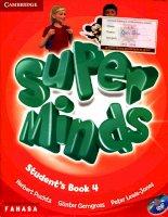Super minds student book 4a