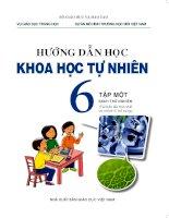 Sách giáo khoa môn khoa học tự nhiên lớp 6 theo chương trình vnen   tập 1
