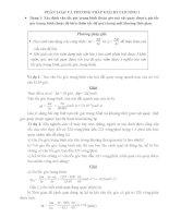 Phân loại và giải bài tập động lực học vật rắn