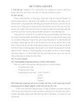 ĐỀ CƯƠNG CHI TIẾT đề tài   NGHIÊN cứu TỔNG hợp POLYMER SAO BẰNG PHƯƠNG PHÁP CHUYỂN NHƯỢNG NGUYÊN tử THUẬN NGHỊCH (ATRP)