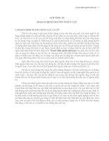 Giáo trình quản trị nguồn nhân lực   chương 3   hoạch định