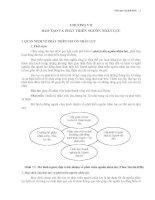 Giáo trình quản trị nguồn nhân lực   chương 7   đào tạo và phát triển