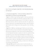 ĐỀ CƯƠNG ôn THI tốt NGHIỆP môn ĐƯỜNG lối CÁCH MẠNG của ĐẢNG CSVN