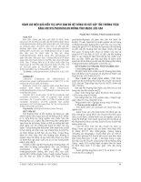 ĐÁNH GIÁ HIỆU QUẢ điều TRỊ LUPUT BAN đỏ hệ THỐNG có đợt cấp tổn THƯƠNG THẬN BẰNG METHYLPREDNISOLON ĐƯỜNG TĨNH MẠCH LIỀU CAO