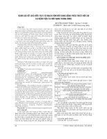 ĐÁNH GIÁ kết QUẢ điều TRỊ u xơ MẠCH vòm mũi HỌNG BẰNG PHẪU THUẬT nội SOI tại BỆNH VIỆN TAI mũi HỌNG TRUNG ƯƠNG