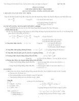 Bài tập vật lý 10   chuyển động thẳng biến đổi đều