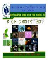 Bài giảng môn độc học môi trường   chương 5  độc học hóa học   sinh học   kim loại nặng (phần 2)   TS  trần thị thúy nhàn