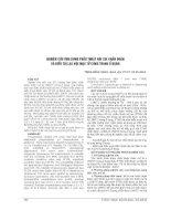NGHIÊN cứu ỨNG DỤNG PHẪU THUẬT nội SOI CHẨN đoán và điều TRỊ lạc nội mạc tử CUNG TRONG ổ BỤNG