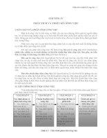 Giáo trình quản trị nguồn nhân lực   chương 4   phân tích